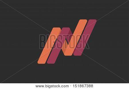 N letter logo design. Creative logo design