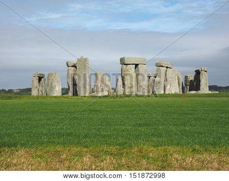 Stonehenge Monument In Wiltshire