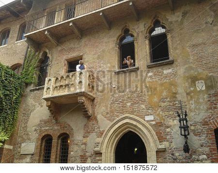 House Of Juliet In Verona