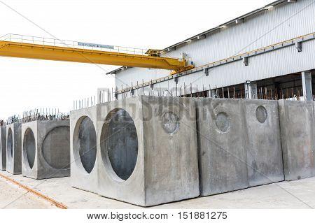 The Precast Concrete Manholes