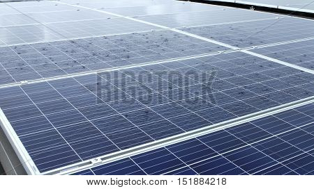 Raining Waterlogged on Horizontal Installation PV panels