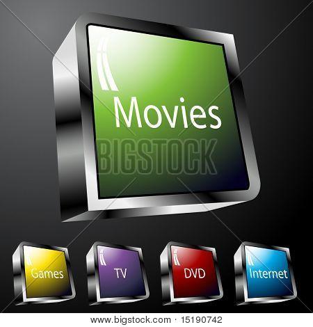 Entertainment Buttons