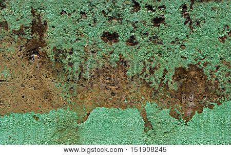 Concrete, concrete texture, green concrete, concrete wall, green background, grunge texture