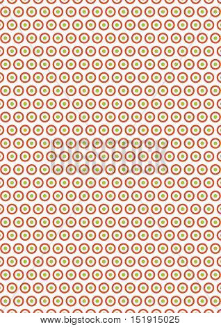 Circle Seamless Texture Chrstmas Paper Background;