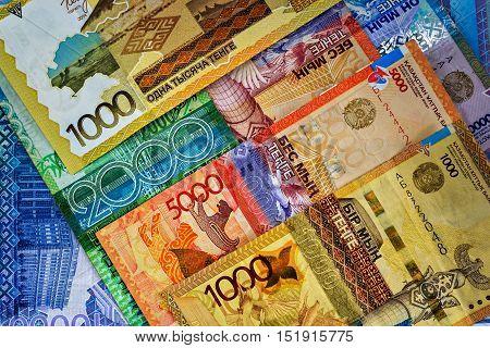 Money Kazakhstan - Tenge. Kazakhstan's national currency