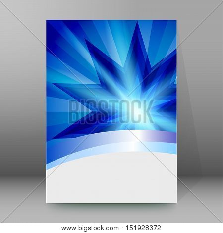 Background Report Brochure Cover Pages A4 Style Abstract Glow27