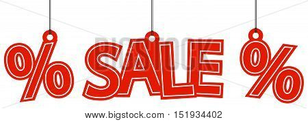 Sale And Percentage Hangtags