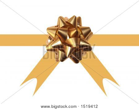 Gold Gift Ribbon