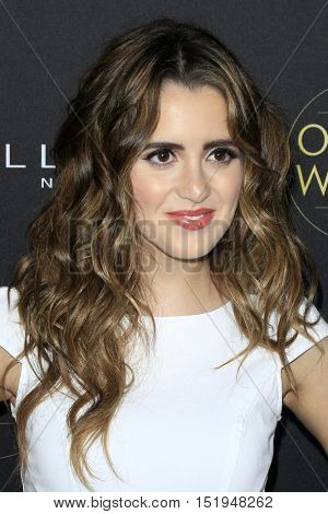 LOS ANGELES - OCT 13:  Laura Marano at the People's One to Watch Party at the E.P. & L.P on October 13, 2016 in Los Angeles, CA