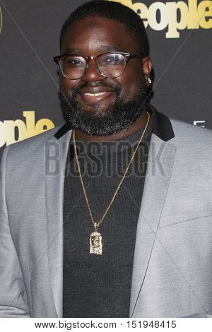 LOS ANGELES - OCT 13:  Lil Rel Howery at the People's One to Watch Party at the E.P. & L.P on October 13, 2016 in Los Angeles, CA