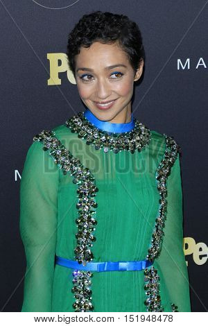 LOS ANGELES - OCT 13:  Ruth Negga at the People's One to Watch Party at the E.P. & L.P on October 13, 2016 in Los Angeles, CA