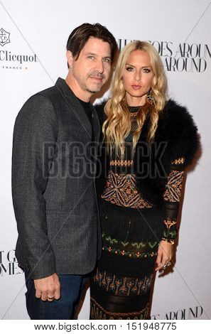 LOS ANGELES - OCT 13:  Rodger Berman, Rachel Zoe at the What Goes Around Comes Around Boutique Grand Opening at the What Goes Around Comes Around Boutique on October 13, 2016 in Beverly Hills, CA