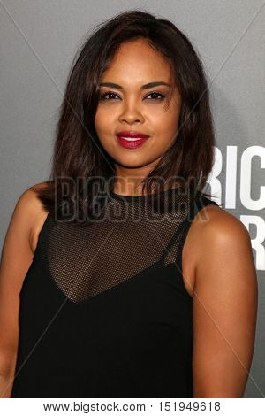 LOS ANGELES - OCT 13:  Sharon Leal at the