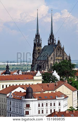the cathedral city of Brno, Moravia, Czech Republic, Europe