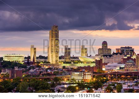 Albany, New York, USA Skyline.