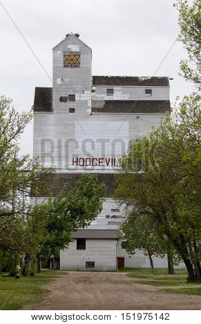 Rural Grain Elevator Canada