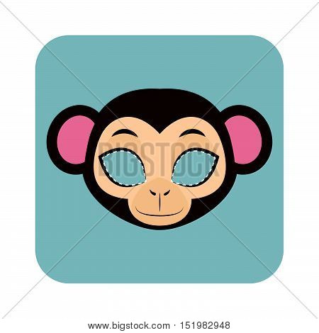 Monkey Mask For Halloween And Other Festivities