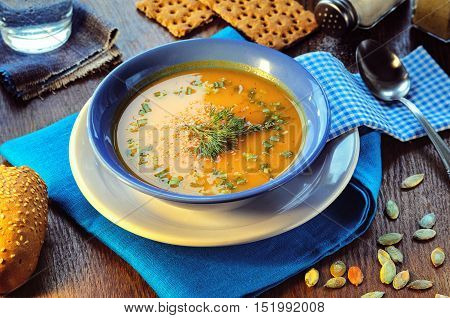 Pumpkin Cream Soup
