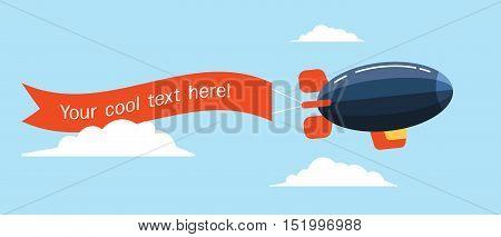 Airship-ribbon-flat