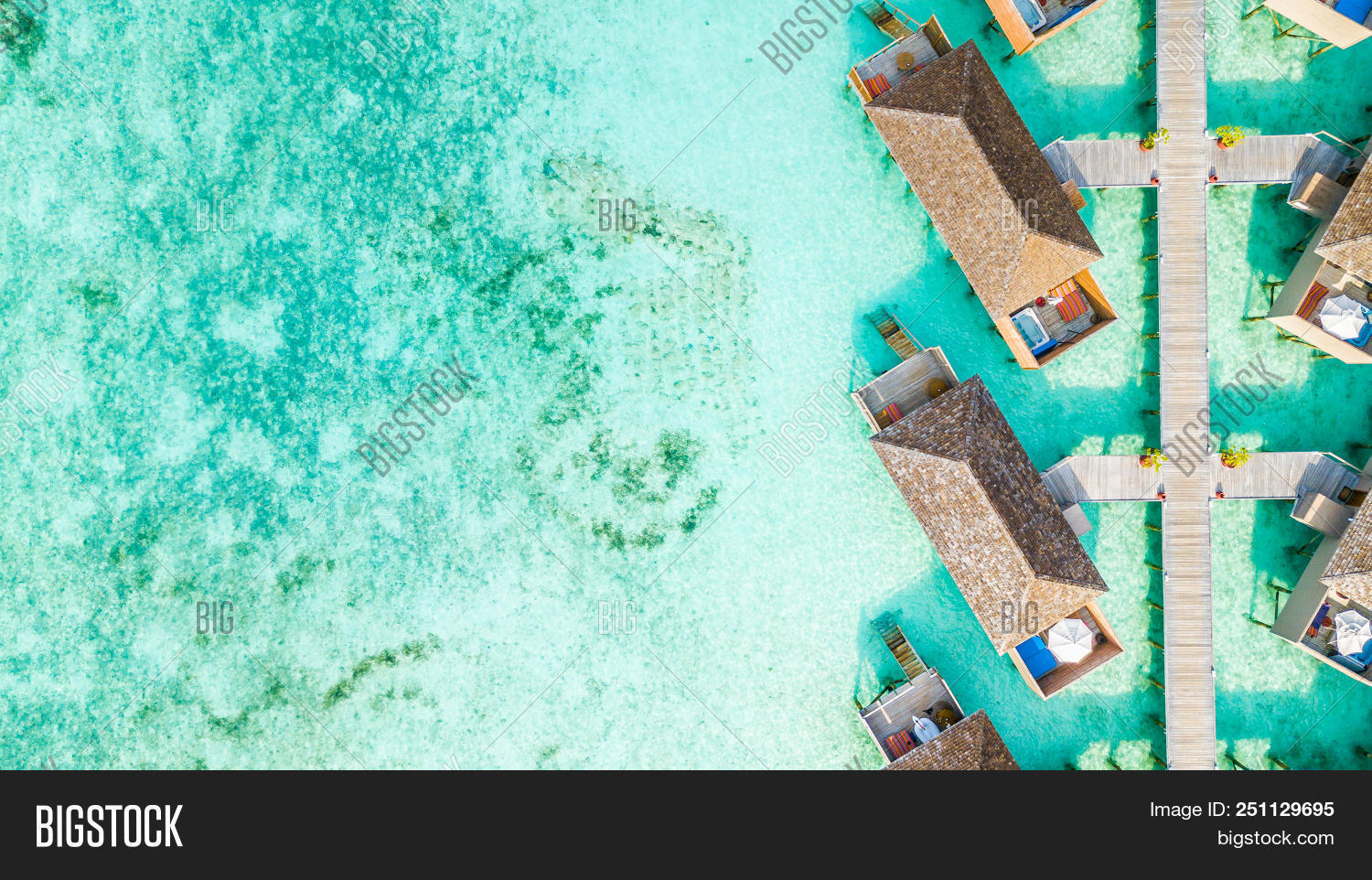 Aerial Top View Water Image Photo Free Trial Bigstock