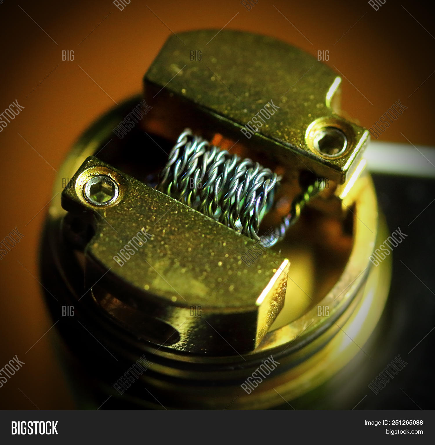 Nichrome Coil Image Photo Free Trial Bigstock