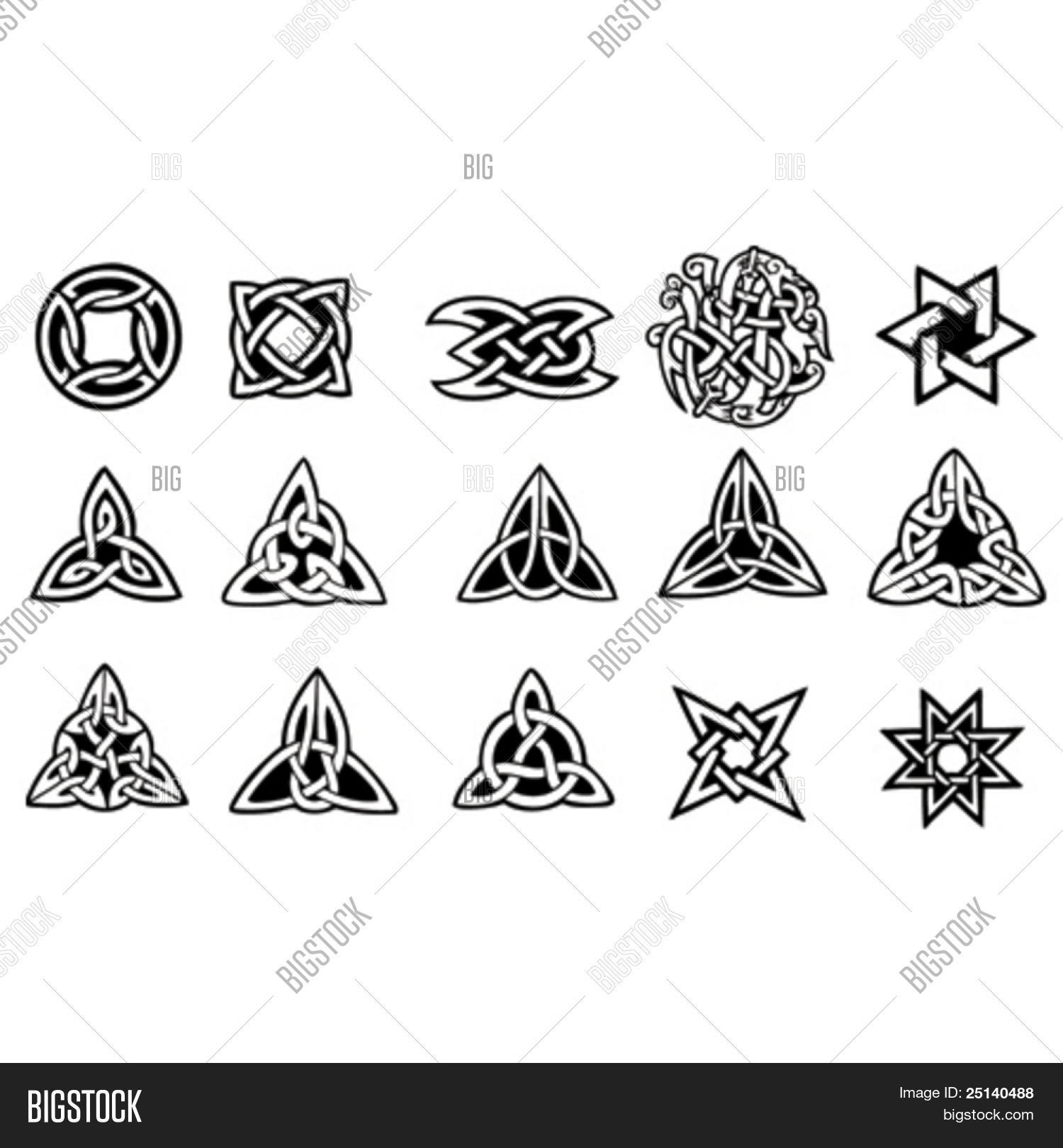 celtic symbols vector photo free trial bigstock