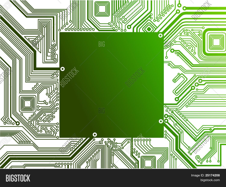 Circuito Electronico : Vector y foto circuito electró prueba gratis bigstock