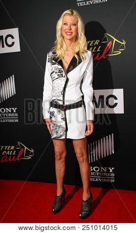 Tara Reid arrives at the AMC's