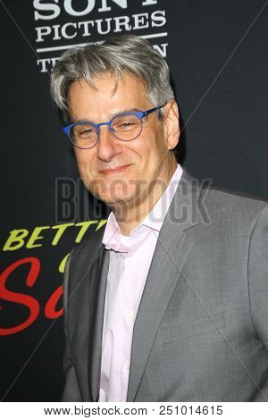 Peter Gould arrives at the AMC's