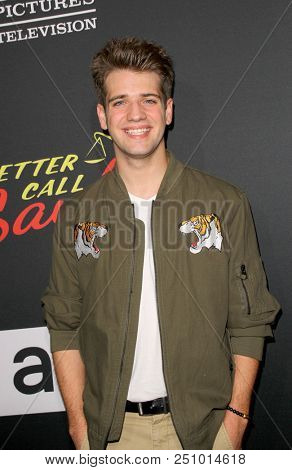 Brandon Tyler Russell arrives at the AMC's