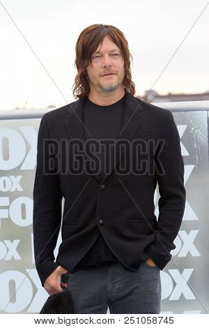 Norman Reedus arrives at a special AMC