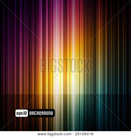 dark abstract spectrum background