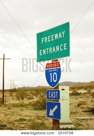 Freeway Entrance I 10