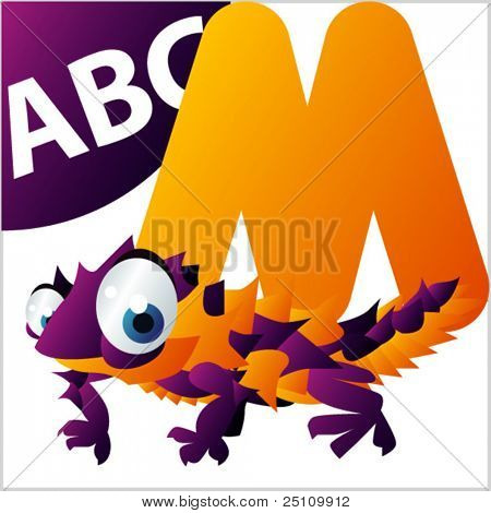 ABC animals: M is for Moloch