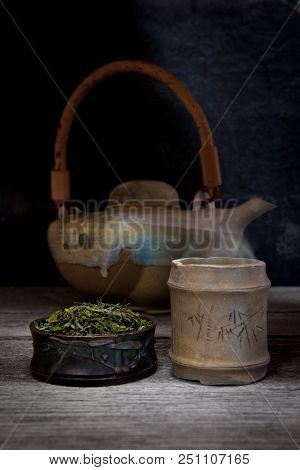 Bancha Tea Is The Common Japanese Green Tea Made From The Older And Larger Leaves Late In The Season