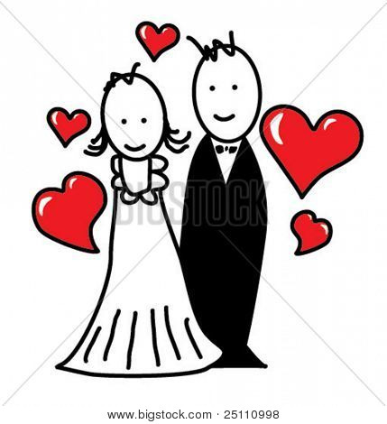 Cartoon/married couple