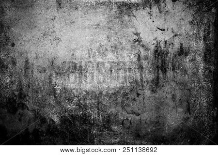 Photo Of Old, Rusty, Scratched Metal Surface, Perfect For A Background