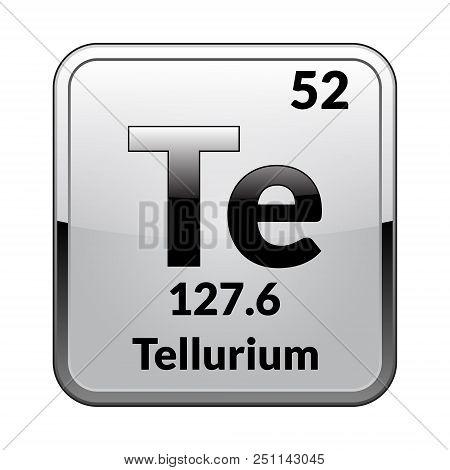 Tellurium Symbol Vector Photo Free Trial Bigstock