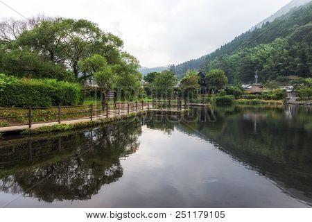 Kinrin Lake Morning Reflections