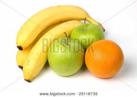 Bananas, Apples And Oranges