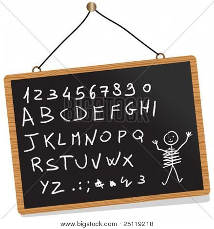 Vector BlackBoard. You can write here what you want.