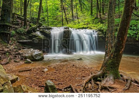 Debord Falls At Frozen Head State Park In Wartburg Tennessee