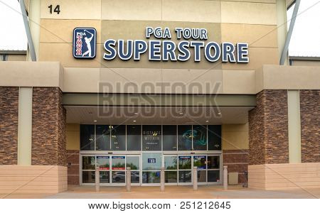 Phoenix,Az/USA - 7.20.18:  PGA Tour Superstore posted a record year in 2017 with an overall sales growth of 23 percent.