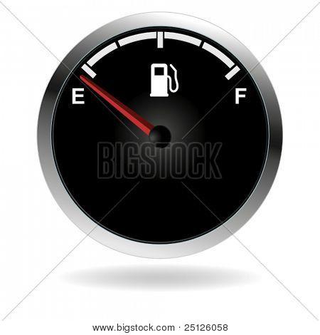 Vector gas gauge.