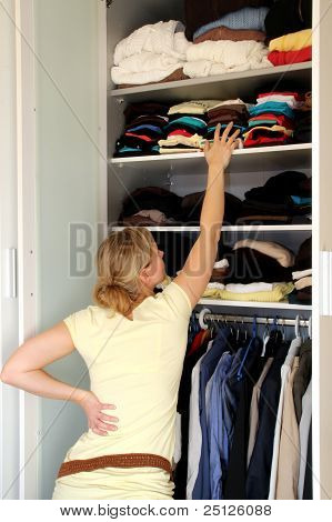 Housewife With Wardrobe