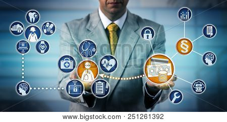 Health Administrator Using Regulations To Pay A Physician For Telemedicine Services. Healthcare And