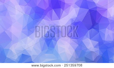 Abstract Geometric Style Brown Background. Autumn-colored Business Background Vector Illustration. B