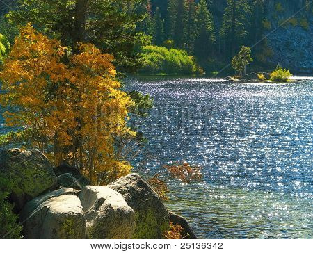 Eagle Lake Near Lake Tahoe