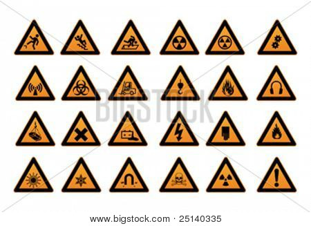Work Safety Signs and Symbols
