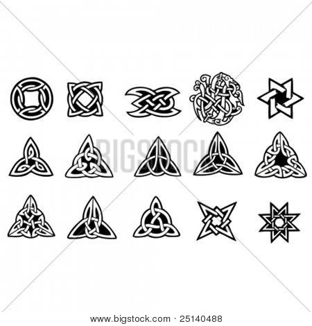 Celtic Symbols Collection